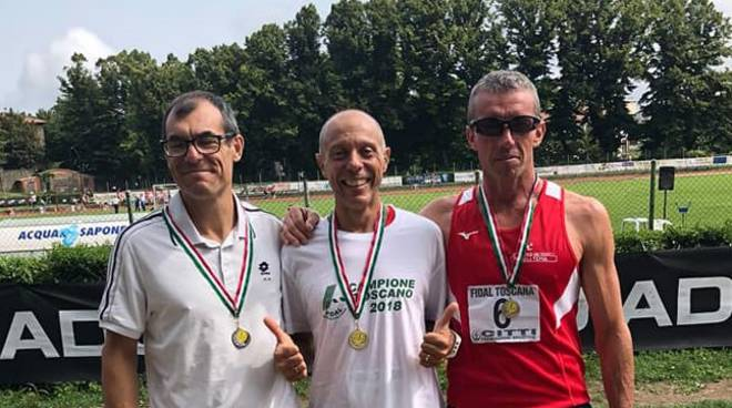 Rossato, Baiano e Golini medaglie ai campionati Master