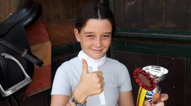 Alissa Pii campionessa maremmana 2018