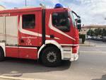 Incidente in città sett 18 camion spazzatura