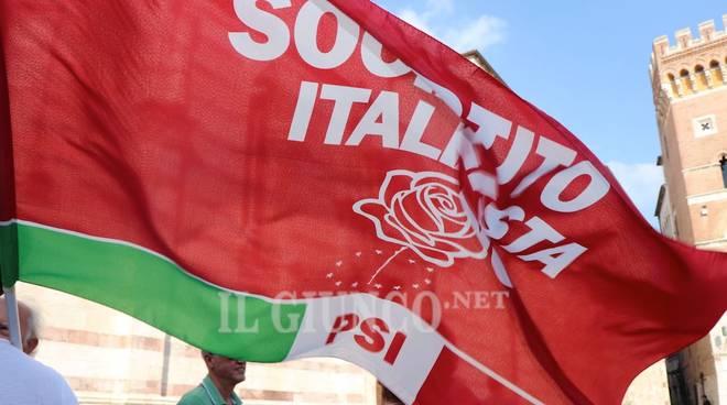 Manifestazione antifascista Anpi 8 settembre 2018 Psi Partito socialista