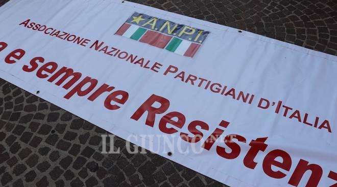 Manifestazione antifascista Anpi resistenza