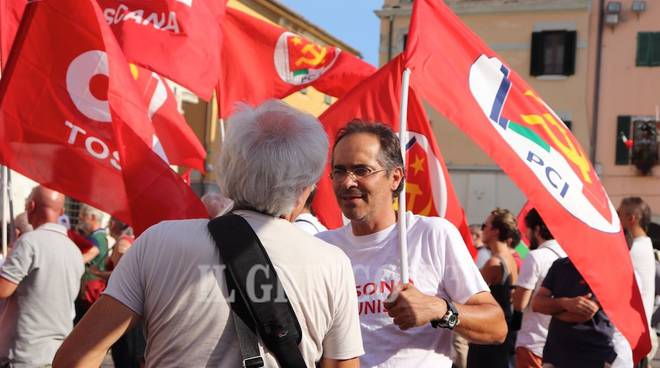 Manifestazione antifascista Anpi 8 settembre 2018 Marco Barzanti