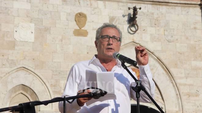 Manifestazione antifascista Anpi 8 settembre 2018 Vittorio Bugli