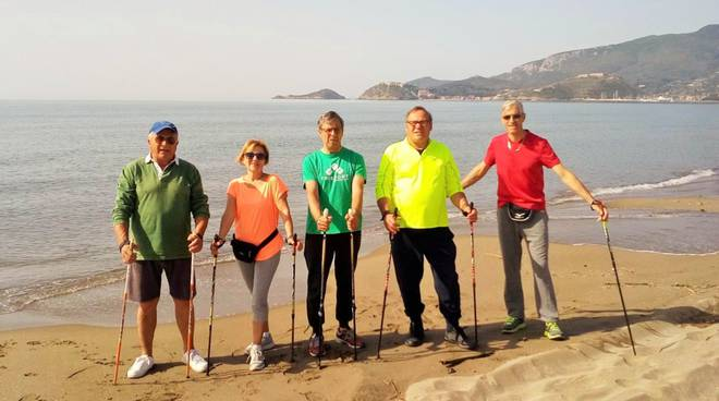 Nordic Walking in Feniglia 2018