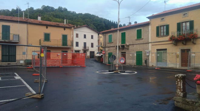 piazza Bagnolo cantiere