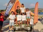 Podio femminile Slalom Firerace 2018
