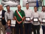 Premiazione giovani campioni mondiali vela Monte Argentario