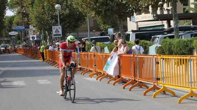 Triathlon Grosseto nove volte finisher all'Ironman Cervia