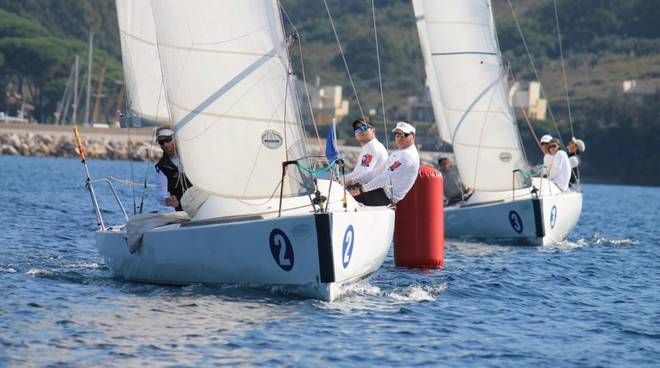Campionato 2018 Open Match Race Scarlino (foto I. Fossi)
