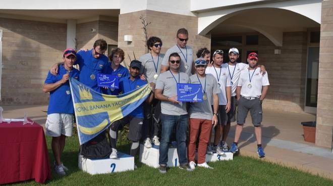 Campionato Open Match Race Scarlino 2018 - premiazioni