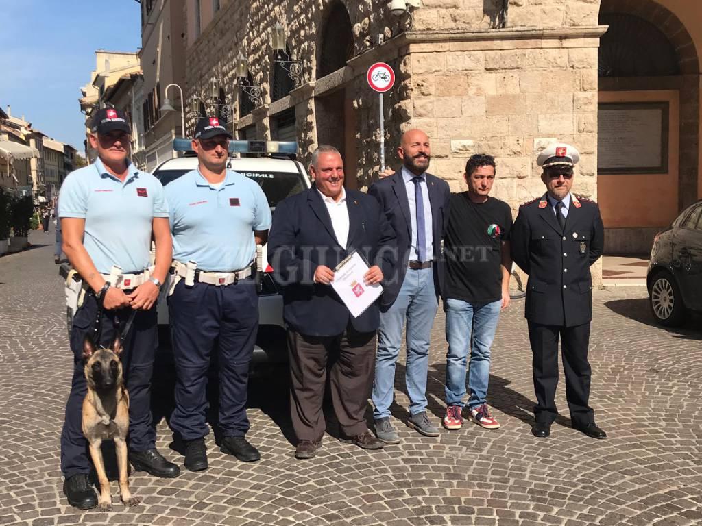 cinofila polizia municipale gr
