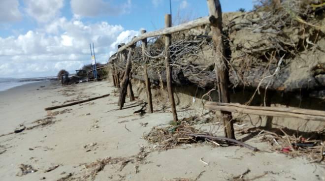 maltempo Duna erosione