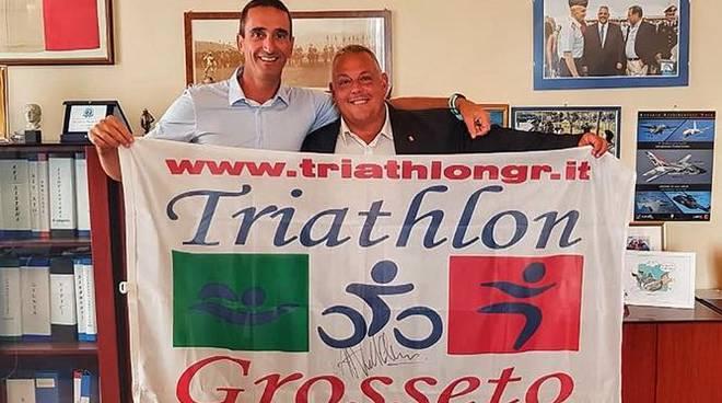 Riccardo Casini Triathlon Grosseto e Vivarelli Colonna pre Kona 2018
