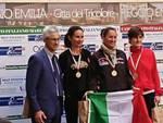 Track & Field vicecampionesse marcia italiani 2018