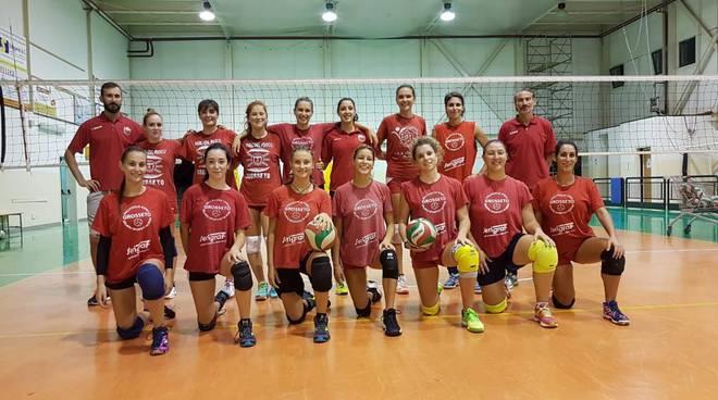 Volley Vigili del Fuoco rosa 2018