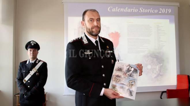 Presentato Il Calendario 2019 Dei Carabinieri Dedicato Ai Siti
