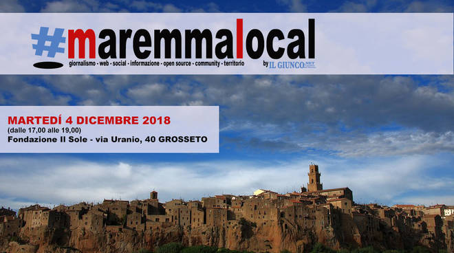 #maremmalocal grafica 2018
