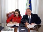 Prefettura firma patto sicurezza Vivarelli Colonna Torraco