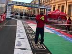 Aldo Cittadino Vvf alla maratona di Reggio Emilia