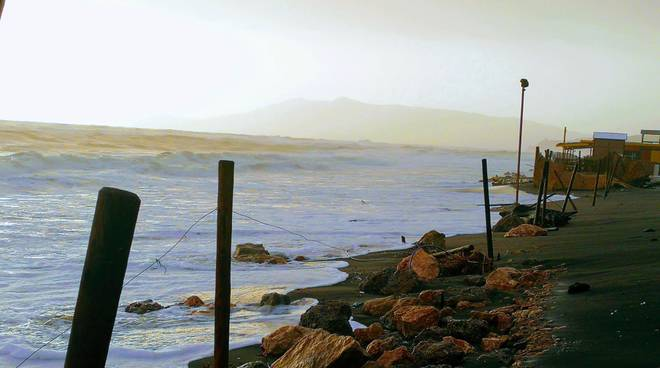erosione costa Capalbio