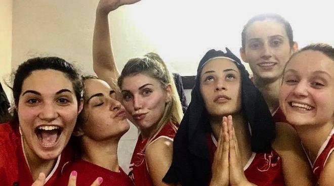 Gazzelle Gea dopo vittoria col Galli 2018