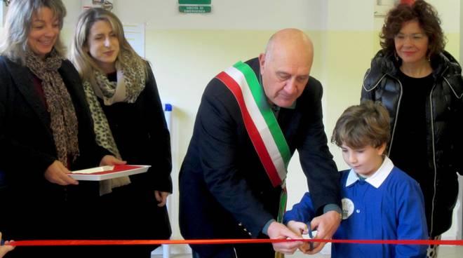 inaugurazione scuola senza zaino santo stefano (Borghini)