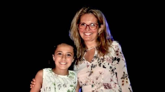 Martina con Gloria Mazzi