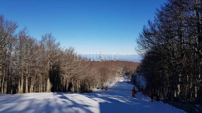 Neve Amiata 26 dicembre 2018