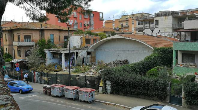 Area palazzo Boman ex blockbuster