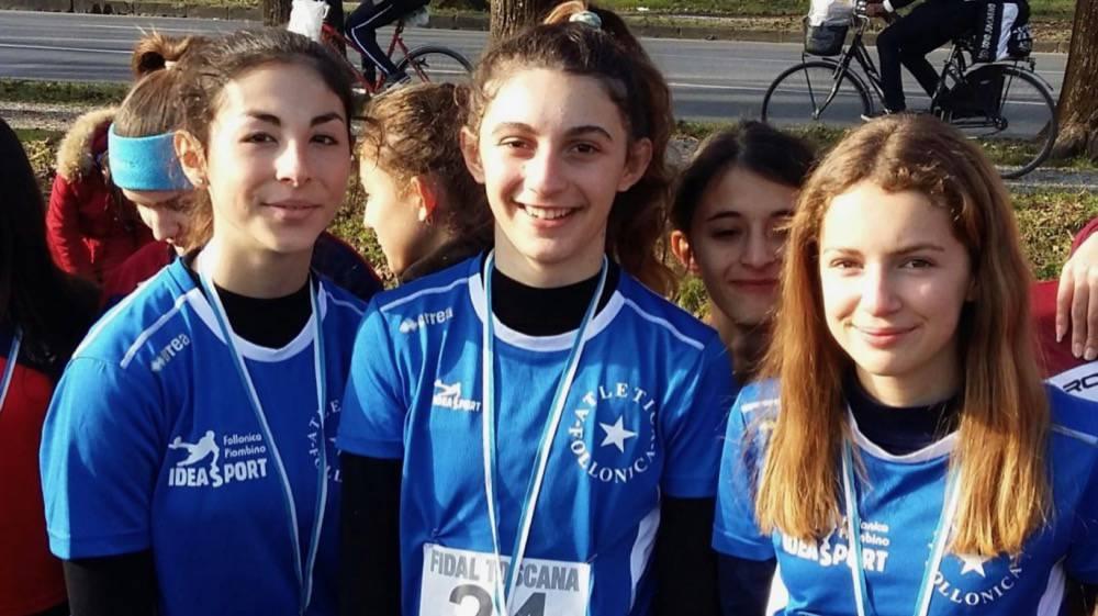 Asp Atletica Follonica ai campionati toscani staffetta campestre 2019