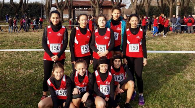 Atletica Grosseto - Campionati di staffetta di campestre 2019