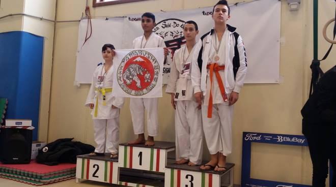 Kiu Do Kan premiazione a trofeo Rosignano 2019