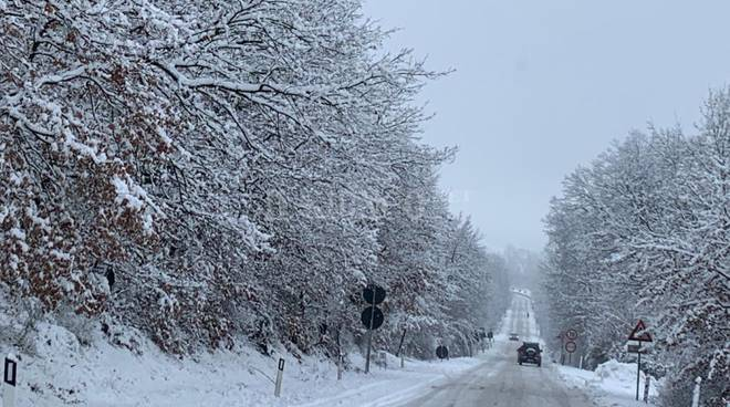Neve Due Mari 30 gennaio 2019