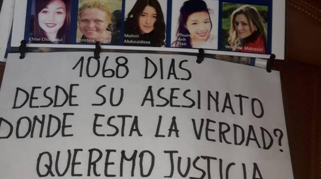 Protesta Erasmus ambasciata Spagna 2019