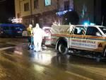 protezione civile strada ghiacciata