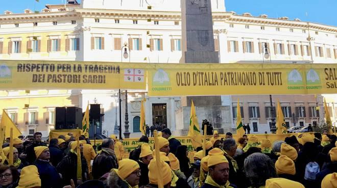 Coldiretti pastori a Roma