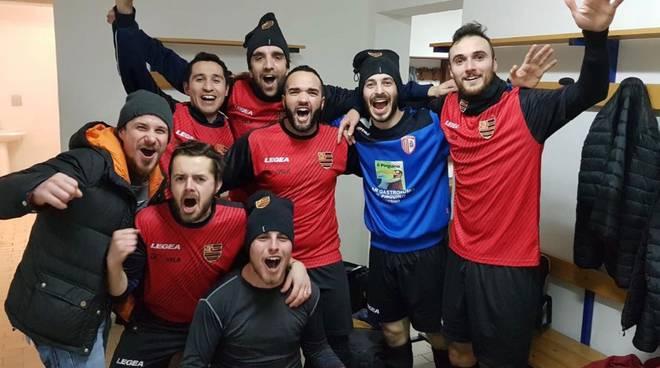 Flamengo Futsal dopo vittoria col Palace