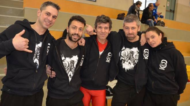 Kettlebell Raiders di Follonica agli italiani 2019