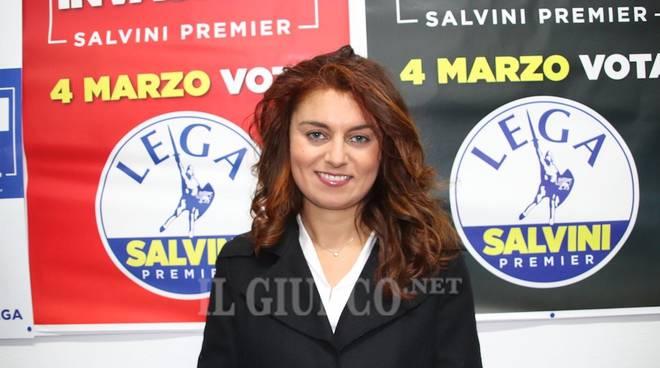 La Lega inaugura la sede Susanna Ceccardi