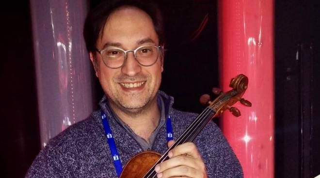 Massimo Merone musicista a Sanremo 2019