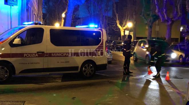 Polizia municipale notte