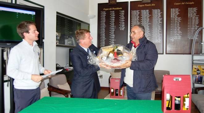 Sapori di Toscana golf cup - premiato Vincenzo Donato