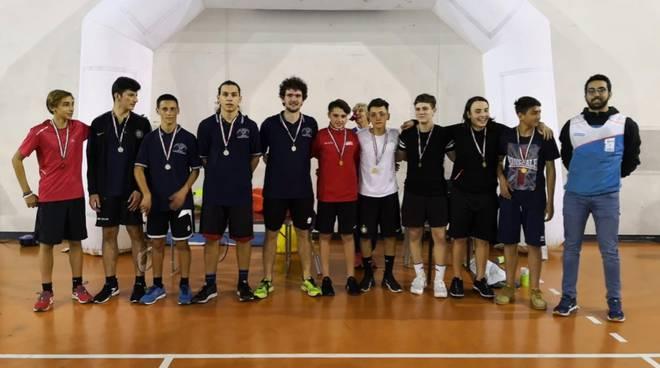 Fossombroni campione regionale Badminton