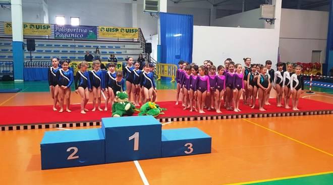Ginnastica - Campionato provinciale Uisp 2019