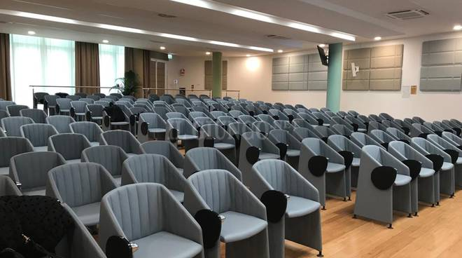 Inaugurazione auditorium misericordia