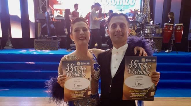 Luca Papini e Simona Ciolfi trofeo Colombo
