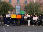 Manifestazione per il clima a Pitigliano