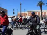 Partenza in bicicletta per ciclabile 2019
