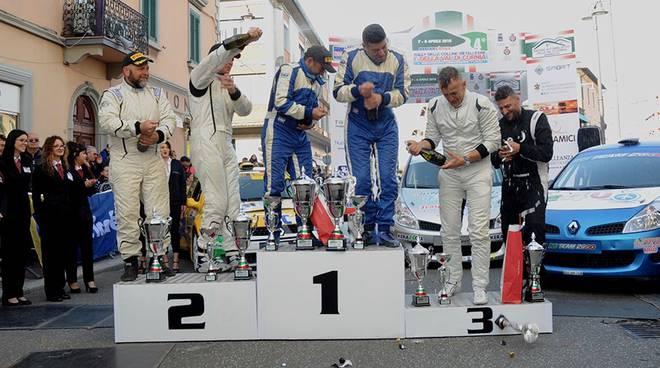 Podio Rally Colline Metallifere 2018 (ph Giaconi)