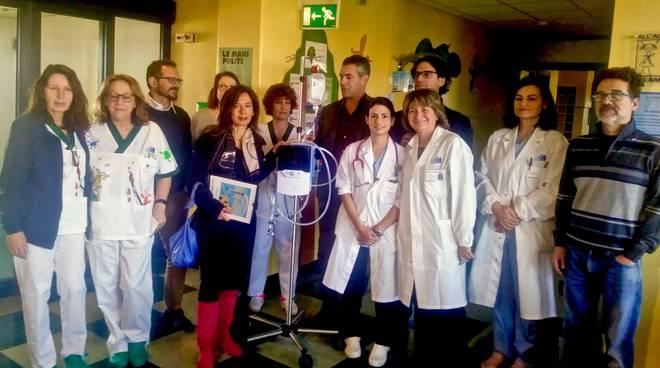 Progetto pediatria donazione ossigenoterapia